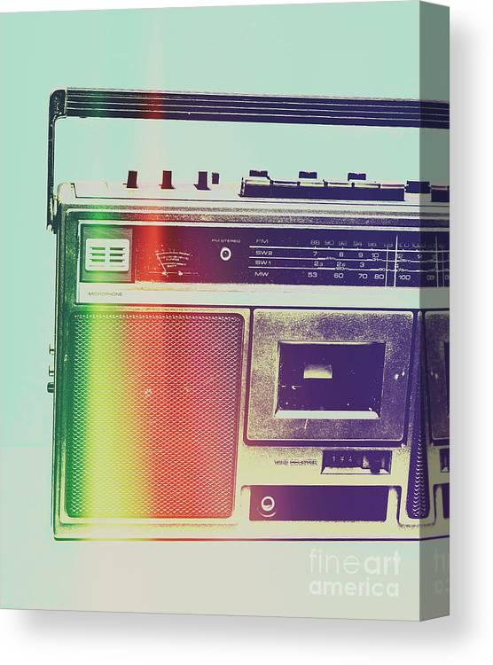 Pop Art Canvas Print featuring the photograph Hi-fi Pop by Jorgo Photography - Wall Art Gallery