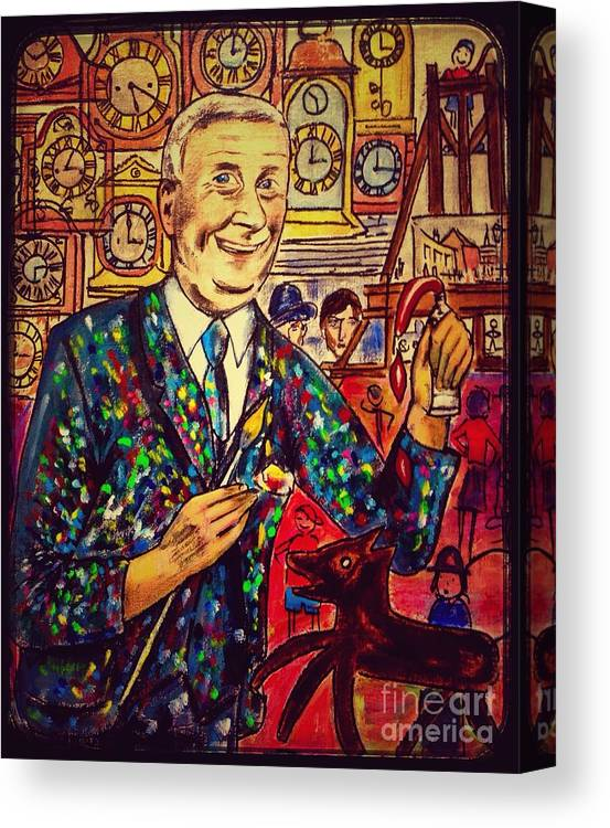 lowry s painting suit vintage canvas print canvas art by joan