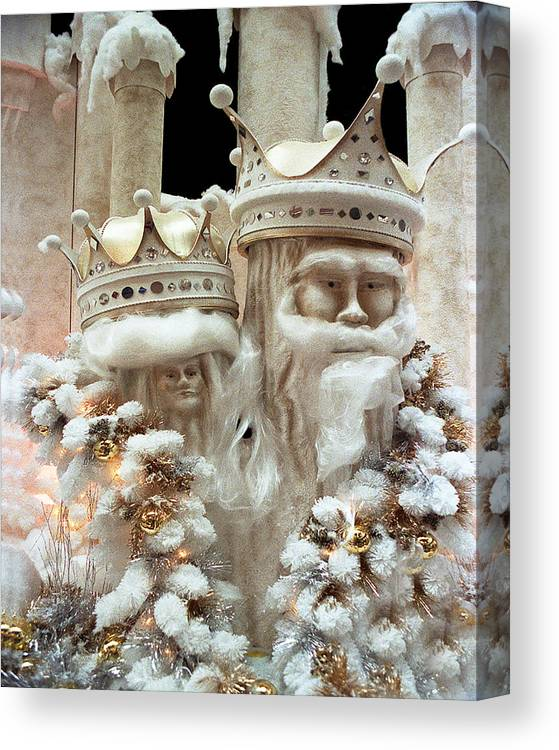 Fantasy Canvas Print featuring the photograph Mr And Mrs Winter by Barry Shaffer