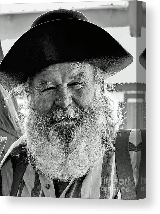 The Old Prospector Of Tomstone Canvas Print Canvas Art By Jim