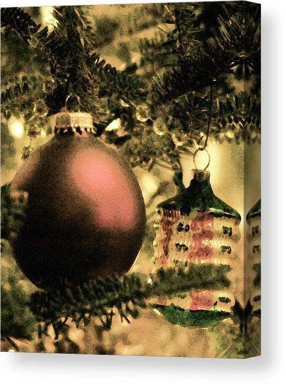Xmas Canvas Print featuring the photograph The Winter Holiday. by Robert Ponzoni