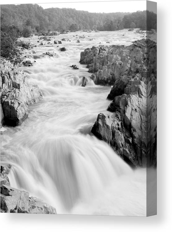 River Canvas Print featuring the photograph Time by Mitch Cat