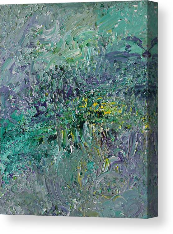Fusionart Canvas Print featuring the painting Blind Giverny by Ralph White
