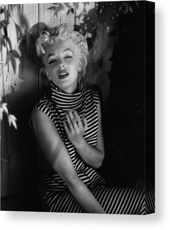 Marilyn Monroe Canvas Print Canvas Art By Baron