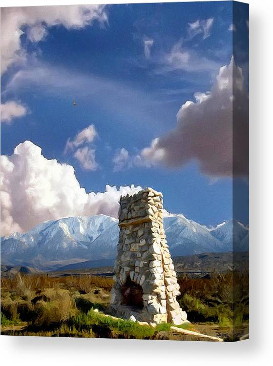 Desert Canvas Print featuring the photograph Desert Host Impressions by Glenn McCarthy Art and Photography