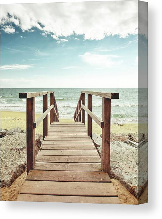 Outdoors Canvas Print featuring the photograph Spring Summer by By Ibai Acevedo