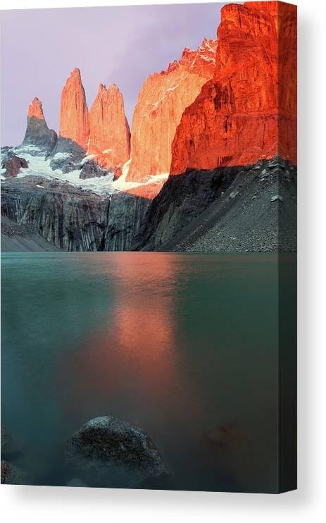 Chile Torres Del Paine National Park Canvas Print Canvas Art By Henryk Sadura