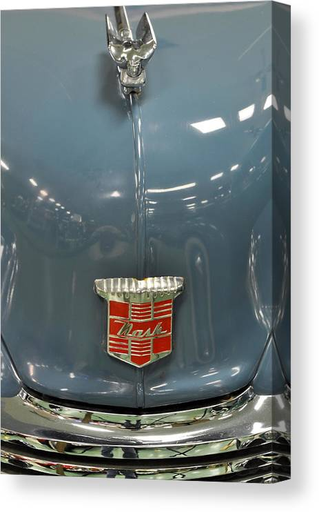 Pastel Canvas Print featuring the photograph 1948 Nash Ambassador by Keith Gondron