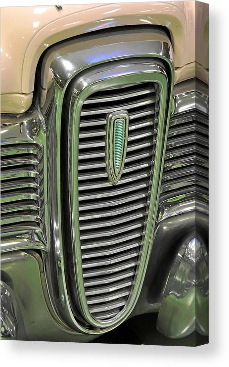 Classic Canvas Print featuring the photograph 1959 Edsel Ranger by Keith Gondron