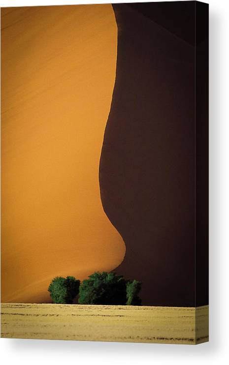 Sand Canvas Print featuring the photograph Dune 1 by John Rickwood