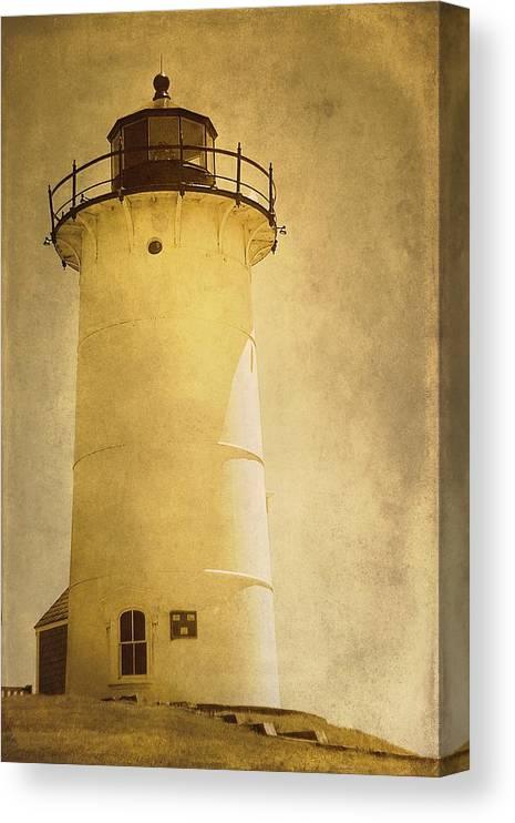 Knobska Point Light Lighthouse Woods Hole MA by Suzanne Powers