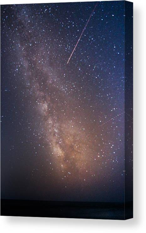 Majestic Canvas Print featuring the photograph Milky Way by Luca Libralato Photography