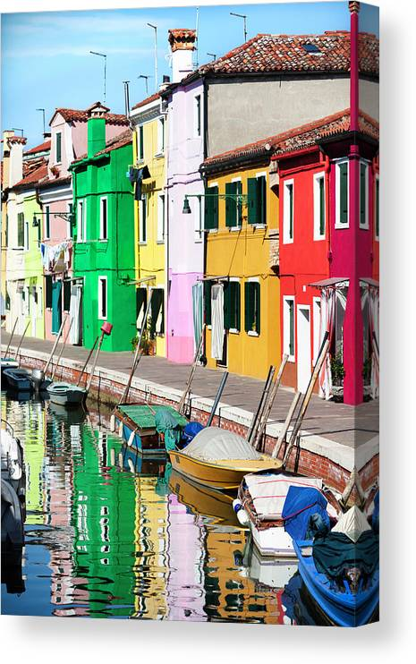 Venice Burano Island Canvas Print Canvas Art By Nicolamargaret
