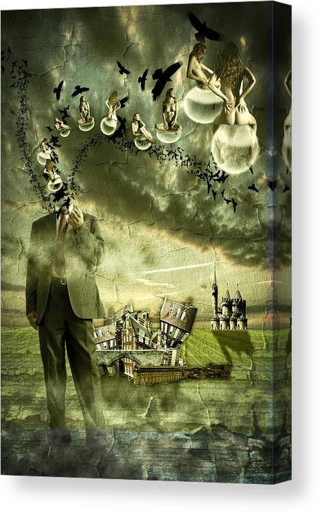 Art Canvas Print featuring the photograph What are you thinking by Nathan Wright