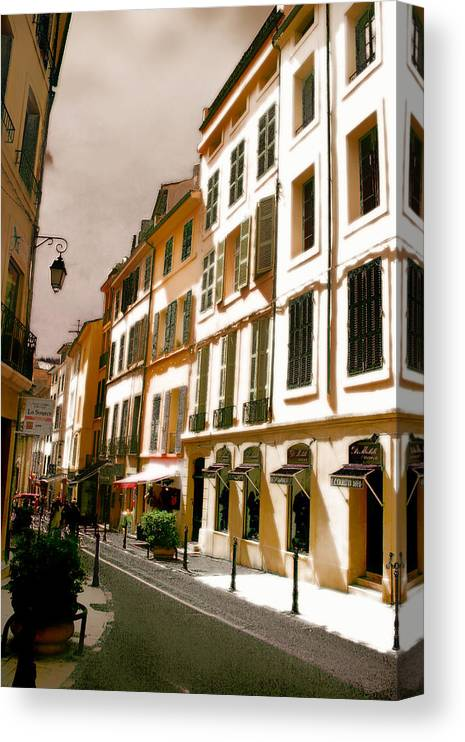France Canvas Print featuring the photograph Aix en Provence by Jim Painter