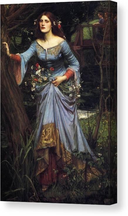 John William Waterhouse La Belle Dame sans Merci Giclee Canvas Print