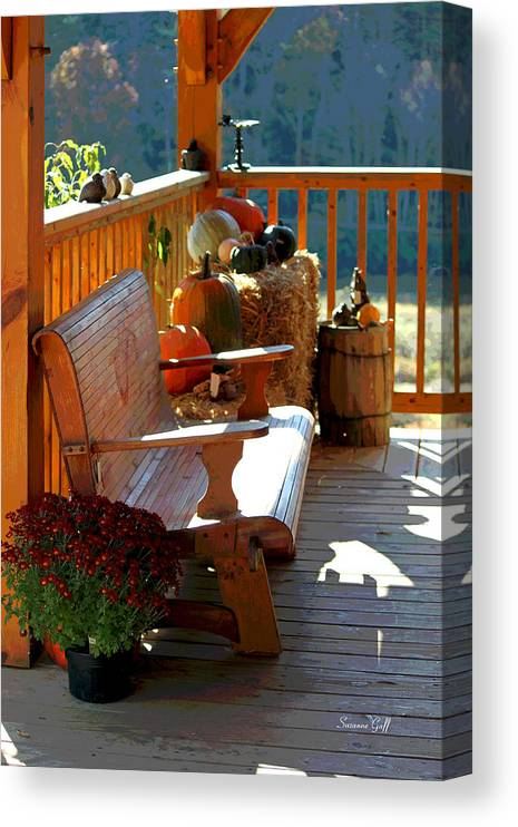 Fall Canvas Print featuring the photograph Autumn Retreat II by Suzanne Gaff