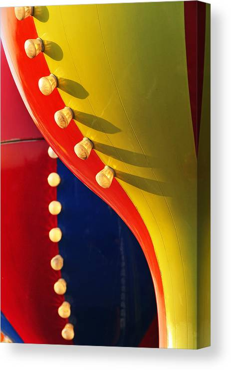 Abstract Canvas Print featuring the photograph Betty by Skip Hunt