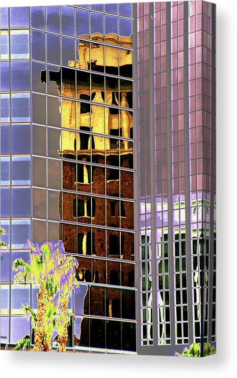 Burned Canvas Print featuring the photograph Burnt Out Reflection by Richard Henne