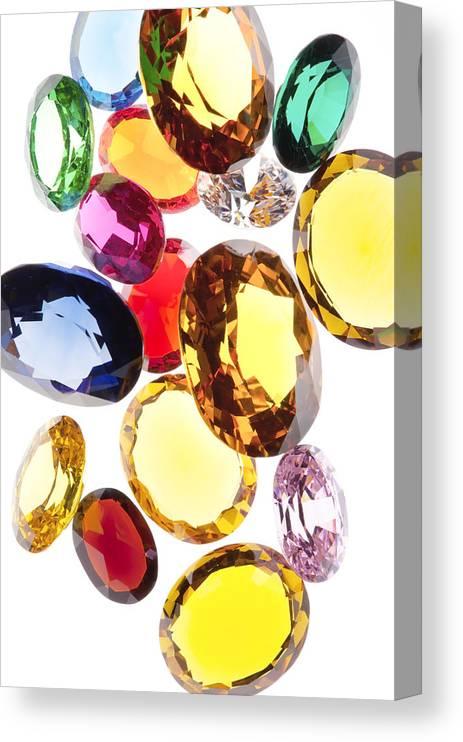 Colorful Gem Print