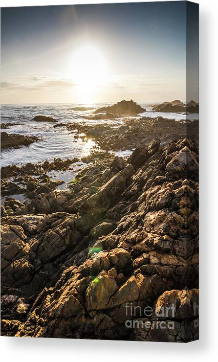 Water Canvas Print featuring the photograph Shore Rays by Jorgo Photography - Wall Art Gallery