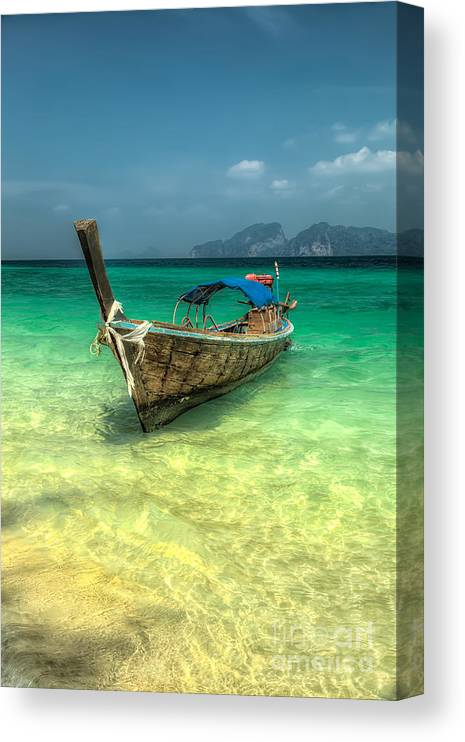 THAILAND BOATS CANVAS PRINT PICTURE WALL HANGING ART HOME DECOR FREE DELIVERY