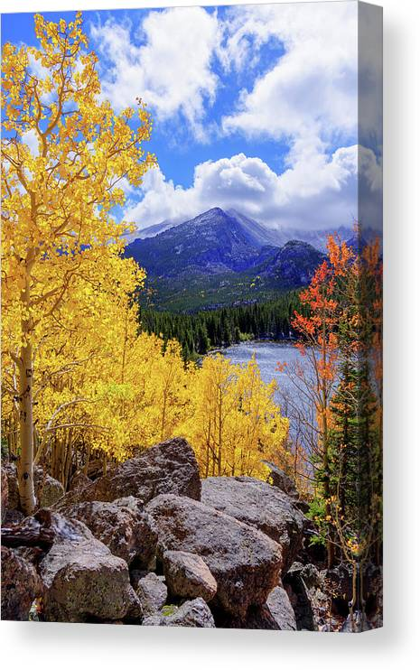 Time Canvas Print featuring the photograph Time by Chad Dutson