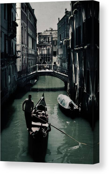 Venice Canvas Print featuring the photograph Venice II by Cambion Art