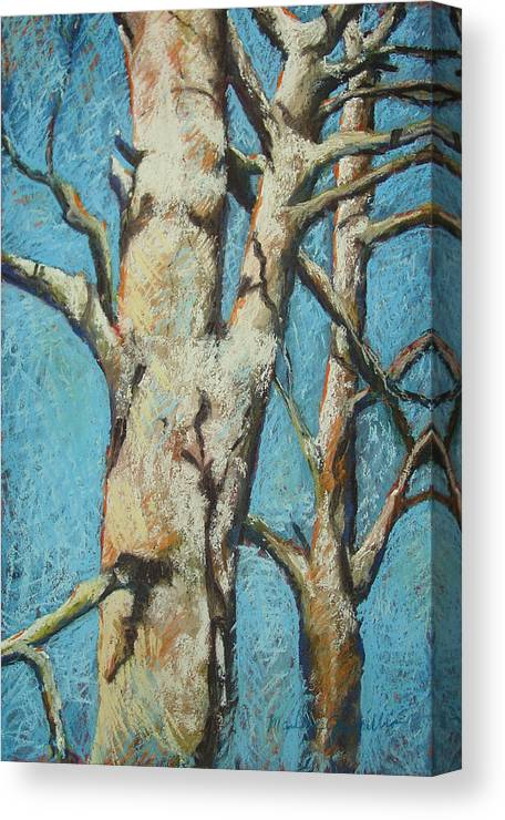 Pastel Canvas Print featuring the painting Warming Light by Marlene Gremillion