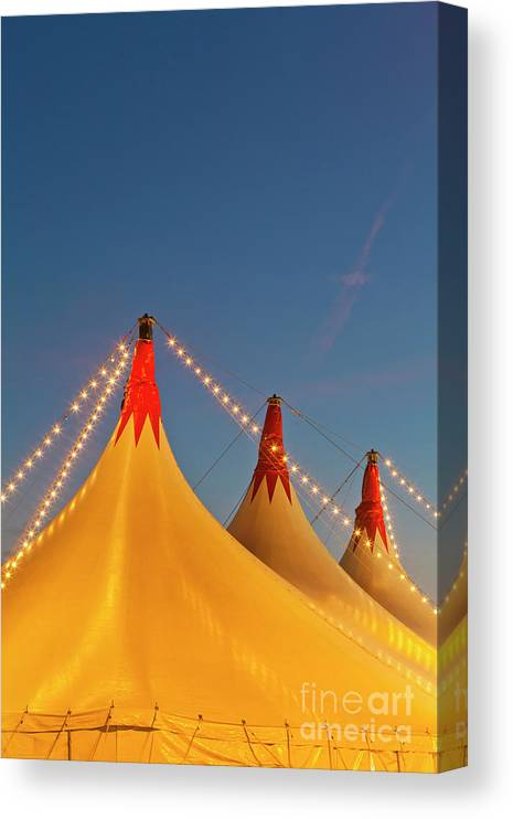 Circus Tent Canvas Print featuring the photograph Germany, Baden Wuerttemberg, Stuttgart by Westend61