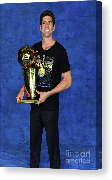 Playoffs Canvas Print featuring the photograph 2018 Nba Finals - Game Four by Jesse D. Garrabrant