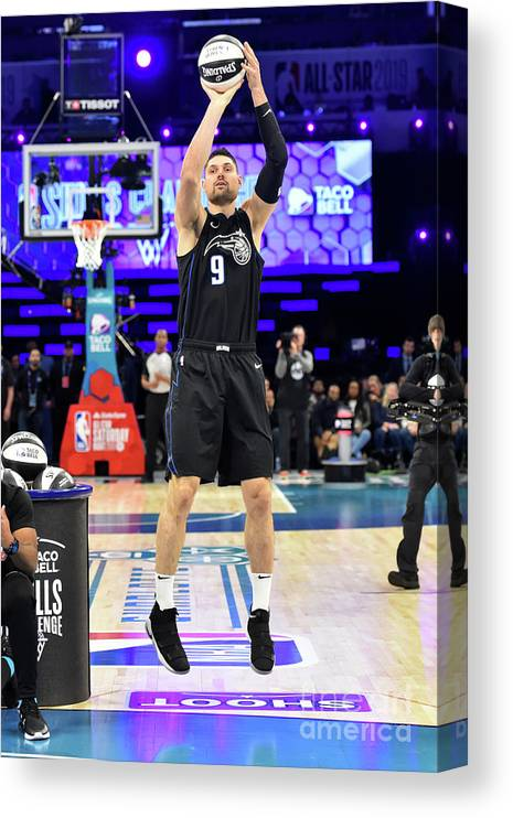 Nba Pro Basketball Canvas Print featuring the photograph 2019 Taco Bell Skills Challenge by Jesse D. Garrabrant