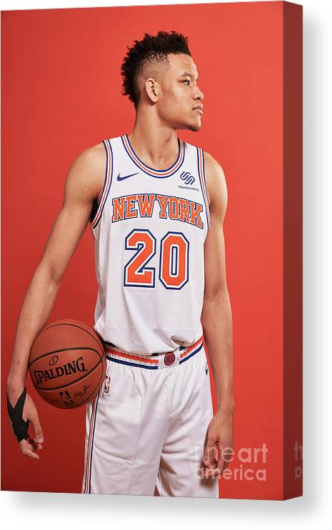 Nba Pro Basketball Canvas Print featuring the photograph 2018 Nba Rookie Photo Shoot by Jennifer Pottheiser