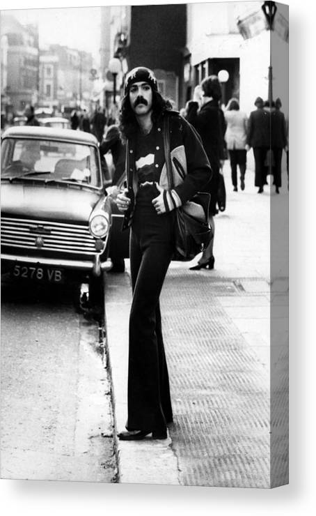 People Canvas Print featuring the photograph Chic Hippy by Evening Standard