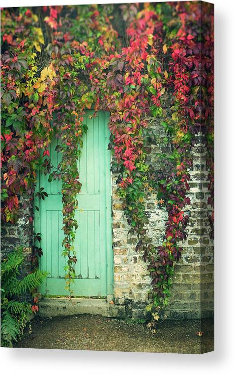 Tranquility Canvas Print featuring the photograph Door To The Secret Garden by Image By Catherine Macbride