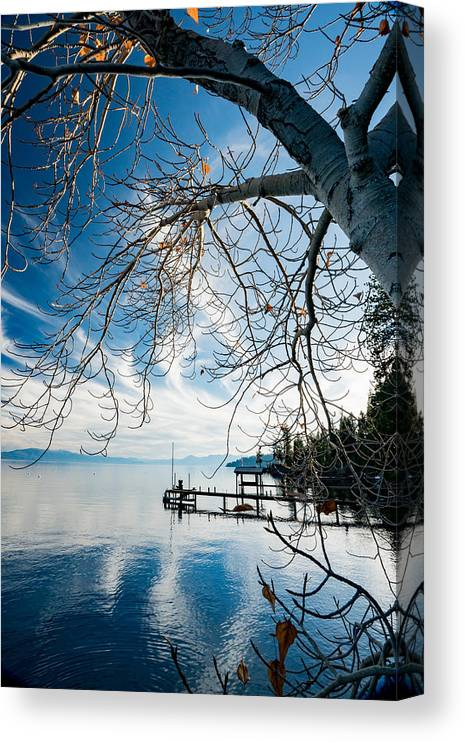 Lake Tahoe Canvas Print featuring the photograph North Shore Lake Tahoe by Mark Miller