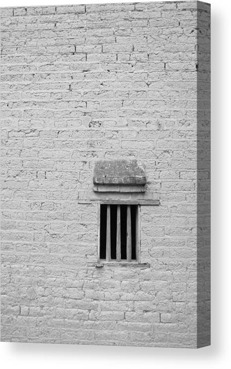 Toughness Canvas Print featuring the photograph Old Prison by Blackred
