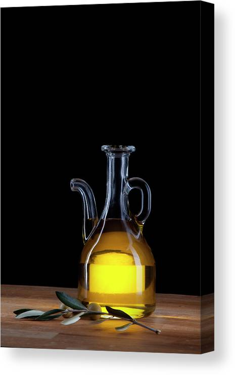 Greece Canvas Print featuring the photograph Olive Oil by Portugal2004