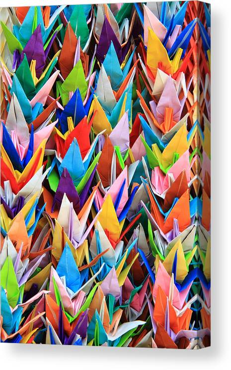 Origami Paper Folding Art Canvas Print Canvas Art By Michaël Ducloux
