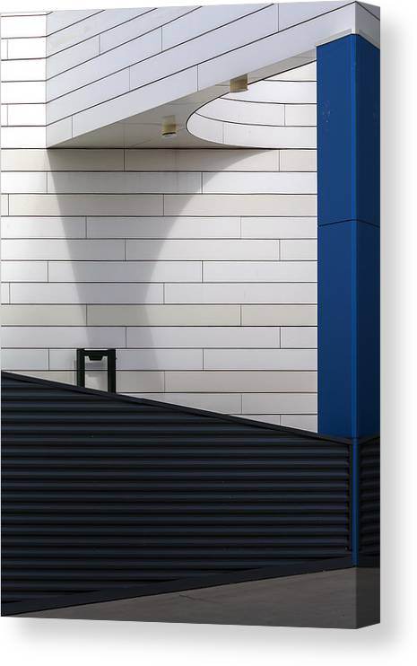 Parking Canvas Print featuring the photograph To Parking Deck by Theo Luycx