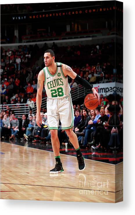 Nba Pro Basketball Canvas Print featuring the photograph Abdel Nader by Jeff Haynes