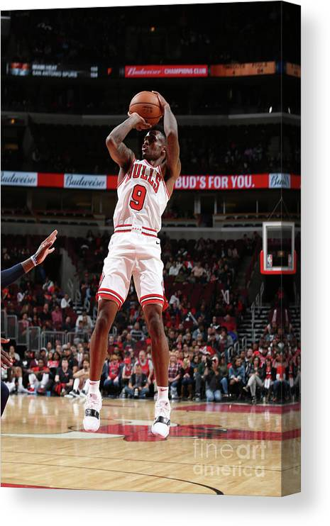Nba Pro Basketball Canvas Print featuring the photograph Antonio Blakeney by Gary Dineen