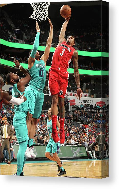 Nba Pro Basketball Canvas Print featuring the photograph Bradley Beal by Kent Smith