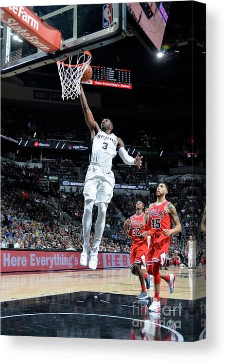 Nba Pro Basketball Canvas Print featuring the photograph Brandon Paul by Mark Sobhani