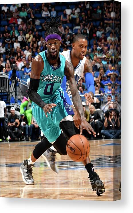 Nba Pro Basketball Canvas Print featuring the photograph Briante Weber by Fernando Medina