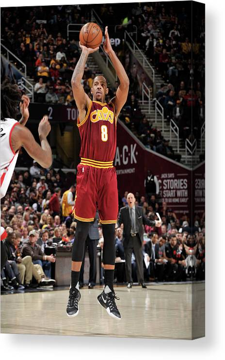 Nba Pro Basketball Canvas Print featuring the photograph Channing Frye by David Liam Kyle
