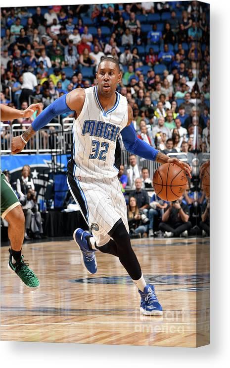 Nba Pro Basketball Canvas Print featuring the photograph C.j. Watson by Fernando Medina