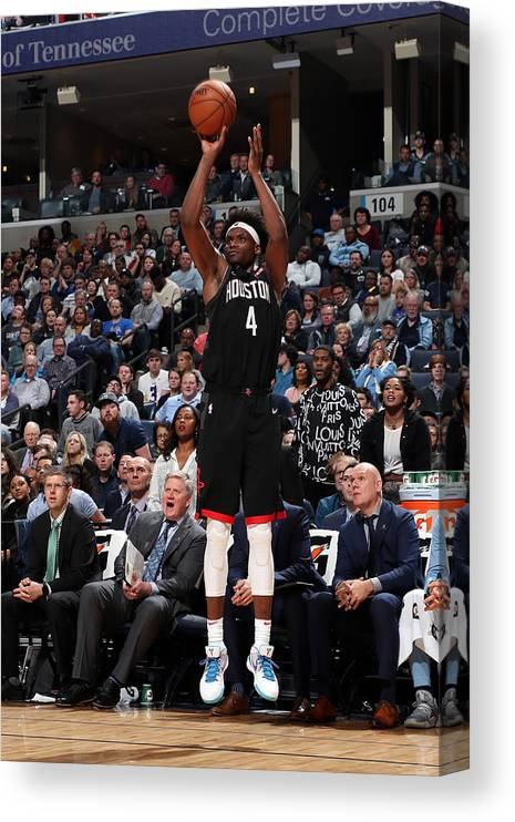 Nba Pro Basketball Canvas Print featuring the photograph Danuel House by Joe Murphy