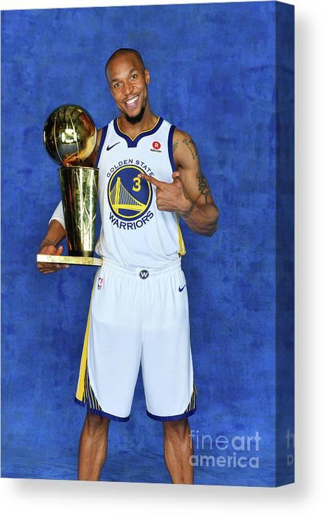 Playoffs Canvas Print featuring the photograph David West by Jesse D. Garrabrant