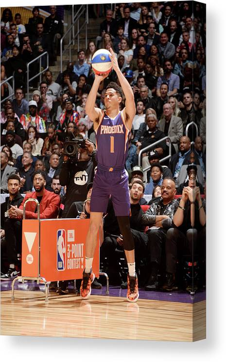Event Canvas Print featuring the photograph Devin Booker by Andrew D. Bernstein